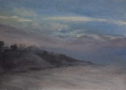 Rockport Fog, oil on panel, 5 x 7 in., $185.00