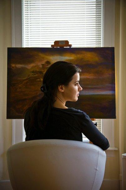 Artist Cynthia Woehrle